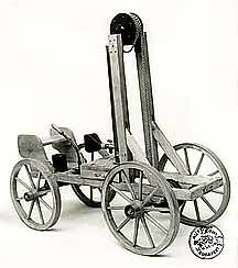 Who Invented The First Internal Combustion Engine