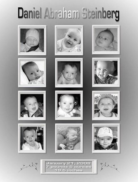 12 Month Photo Collage : month, photo, collage, Collage, Custom, Designed, Multi, Photo, Sample, Examp…, Flickr