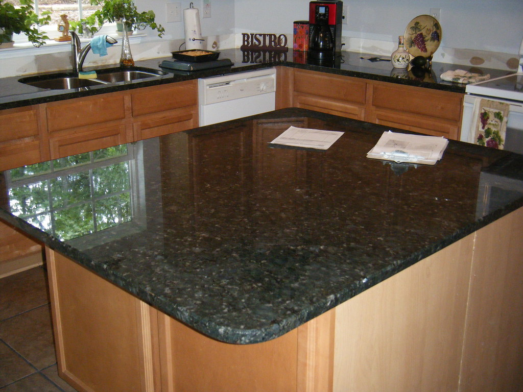 Verde Butterfly Granite Countertops | Remodeling? Want to kn… | Flickr