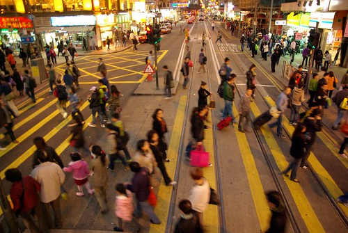Wan Chai crossing close to MTR exit   Cedric Sam   Flickr