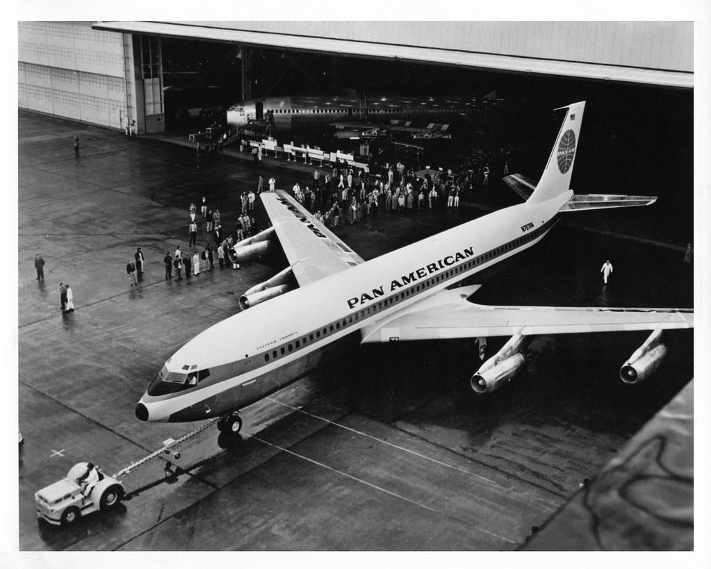 pan am boeing 707