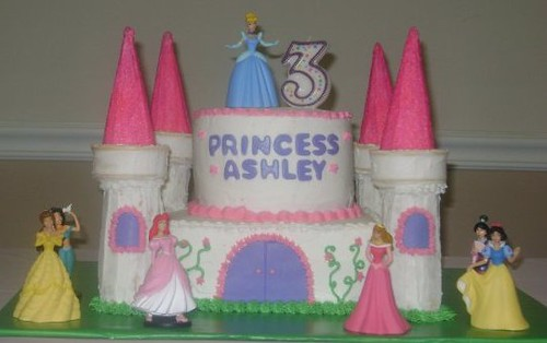 Princess Castle Birthday Cake I Made This Castle Cake For Flickr