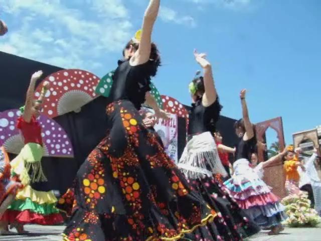video 05 sevillanas infantiles feria abril Las Palmas de Gran Canaria