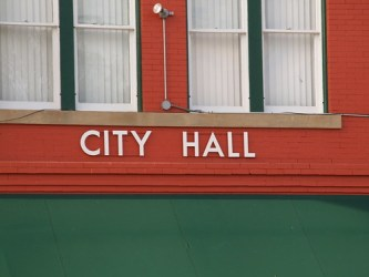 edna roads buildings hall town texas signs
