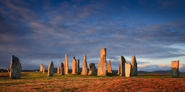 Early Morning at Callanish Standing Stones II (crop)