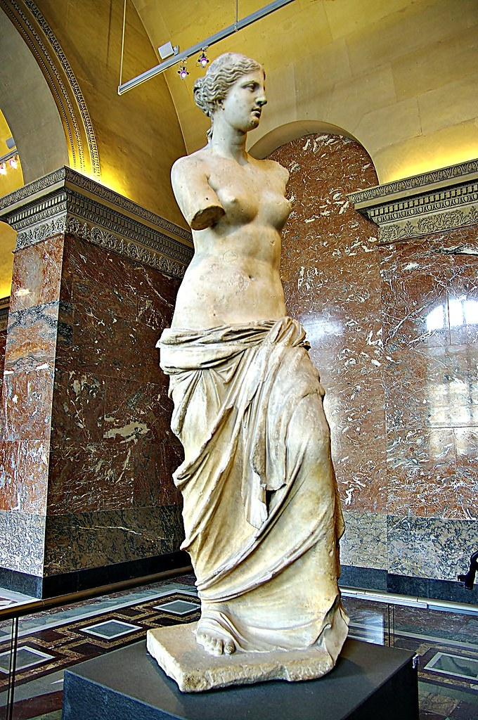 Statue Of Venus Di Milo Aphrodite The Greek Goddess Of