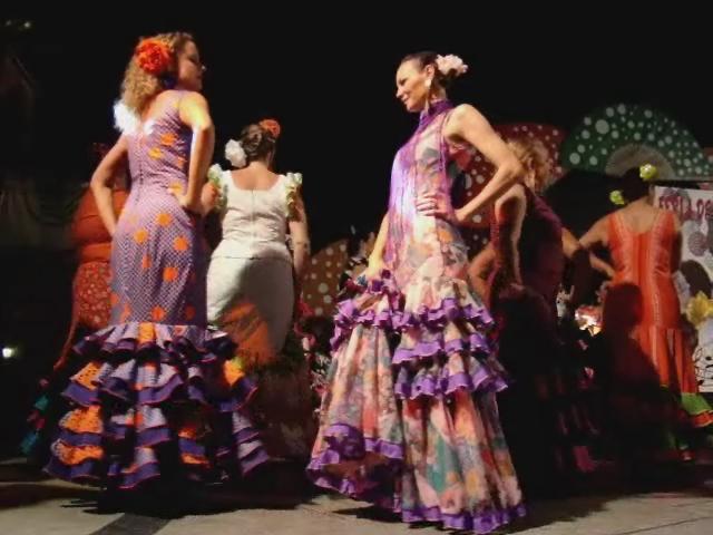 video 11 Gala clausura sevillanas corraleras feria de abril en Las Palmas de Gran Canaria