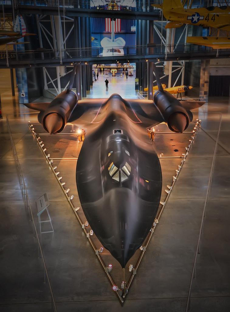 SR-71A Blackbird | SR-71A #972 sits on display at the Steven… | Flickr