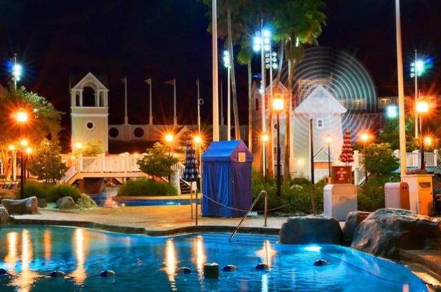 Daily Disney - Storm Along Bay at Night