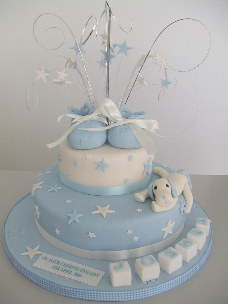 cake boys christening 2