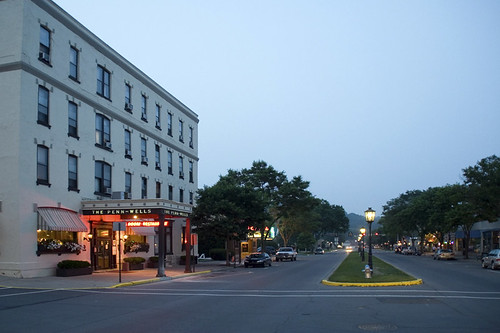 The historic Penn Wells Hotel | A wonderful old hotel in the… | Flickr