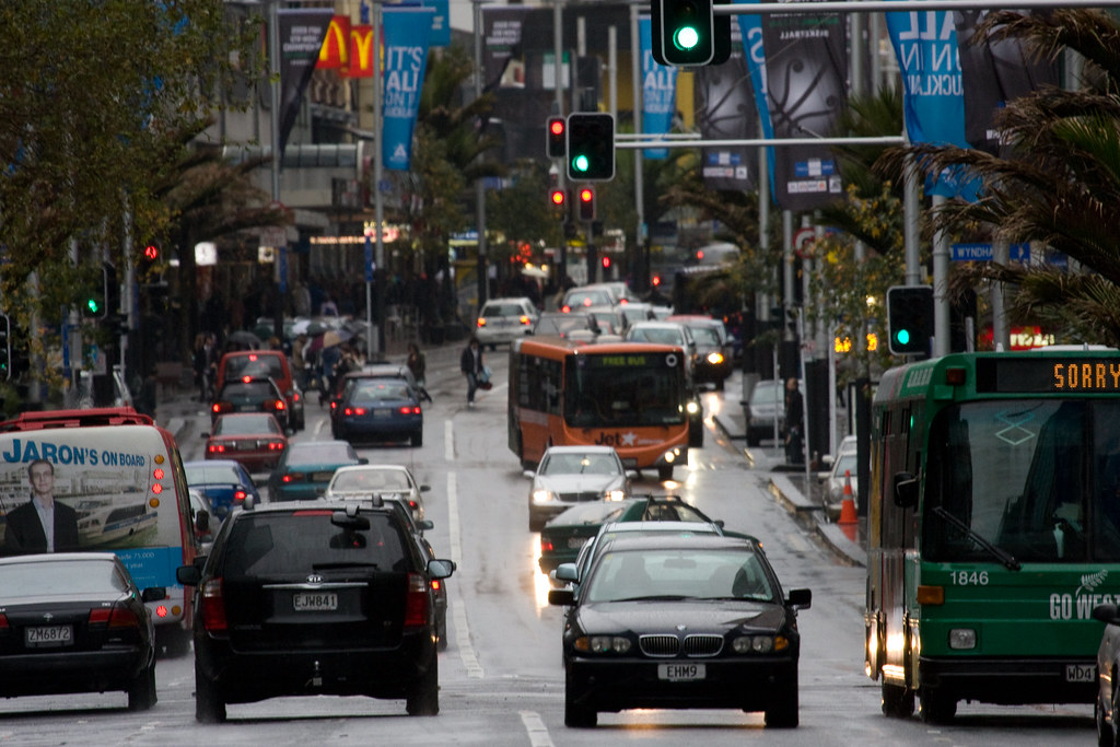 Queen Street, Central Auckland