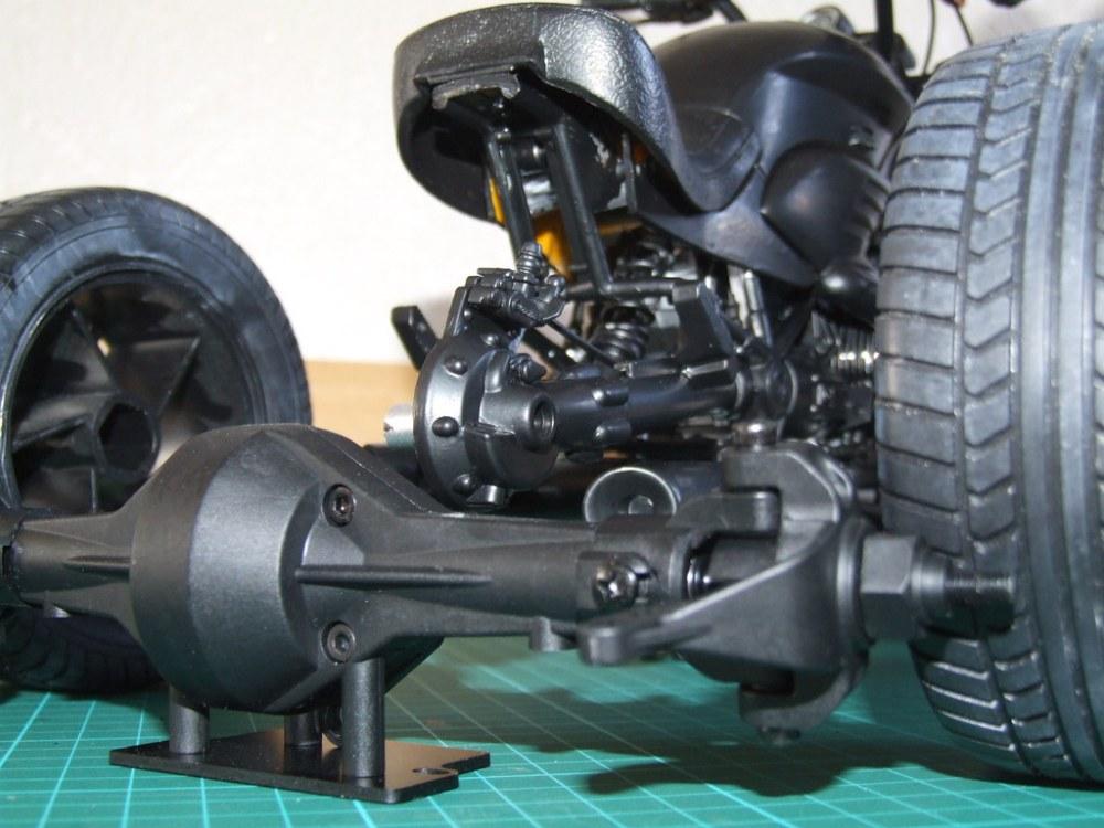 medium resolution of  1 6 radio control bmw three wheel steering rat trike by agent of the