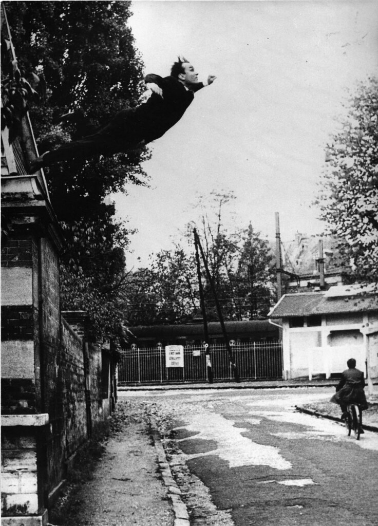 Le Saut Dans Le Vide : Klein, (19…, Flickr