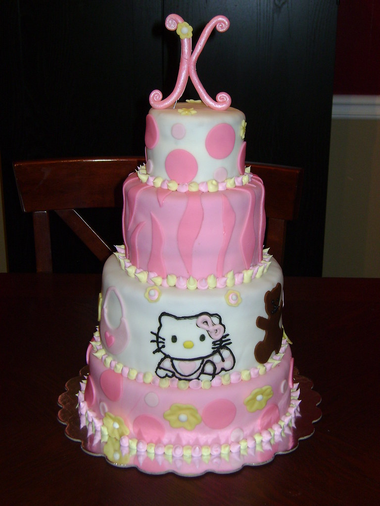 Hello Kitty Baby Shower Cake : hello, kitty, shower, Hello, Kitty, Shower, Cover…, Flickr