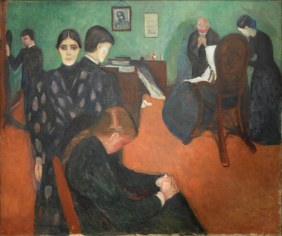 "Death in the Sickroom"" d'Edvard Munch (Oslo) 