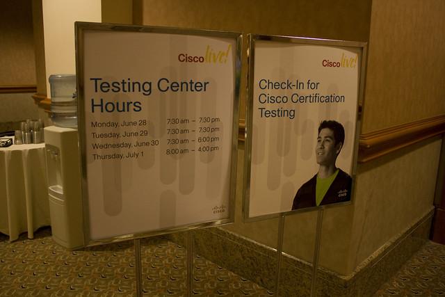 @ mandalay bay / cisco live testing center