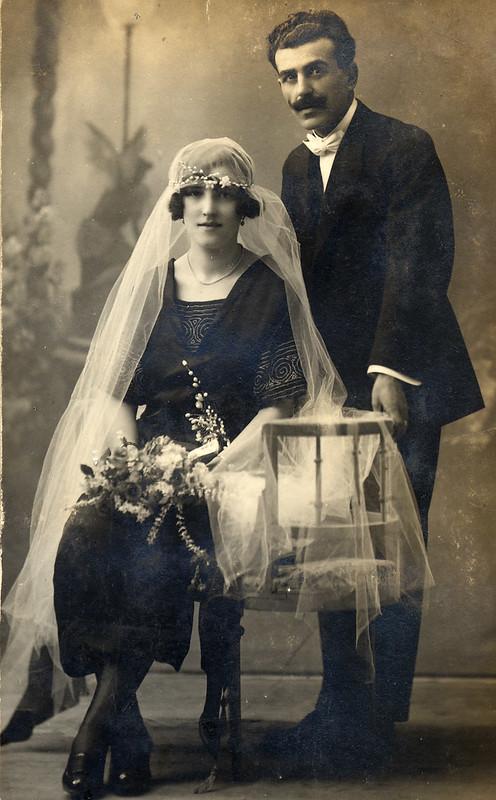 Spanish wedding couple