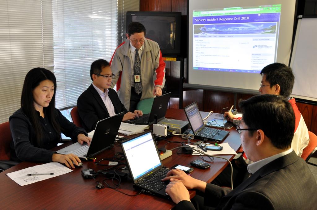 「香港電腦保安事故協調中心」全港網絡保安演習防範網上金融罪行 | Flickr