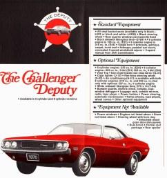 1970 dodge challenger deputy coupe [ 1015 x 1024 Pixel ]