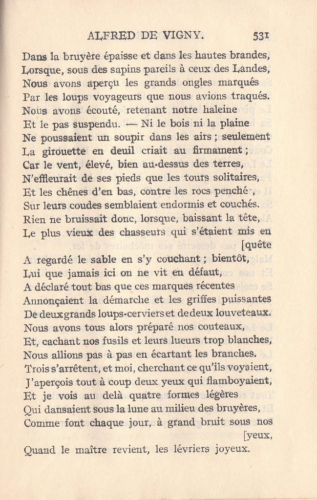 Vigny La Mort Du Loup : vigny, Alfred, Vigny,, Véronique3, Flickr