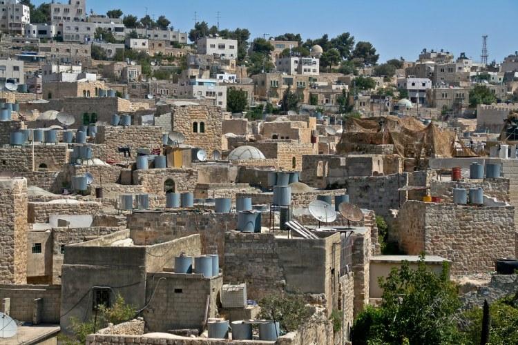 Hebron rooftops