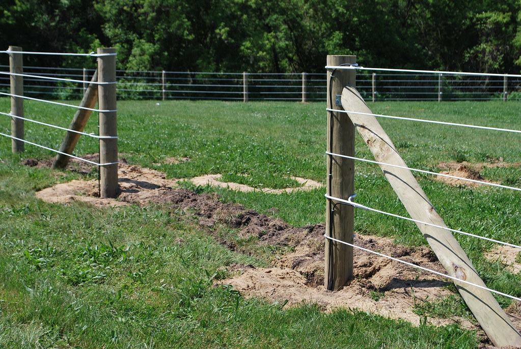 Ramm Electric Fence Installation Project Flickr Photo Sharing