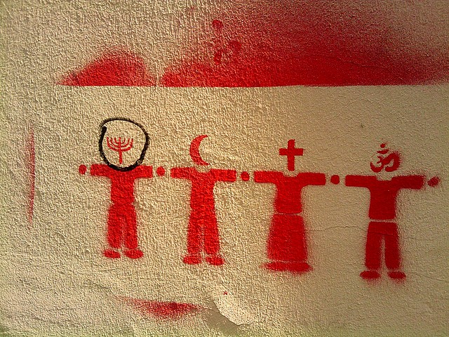 Religion Stencil