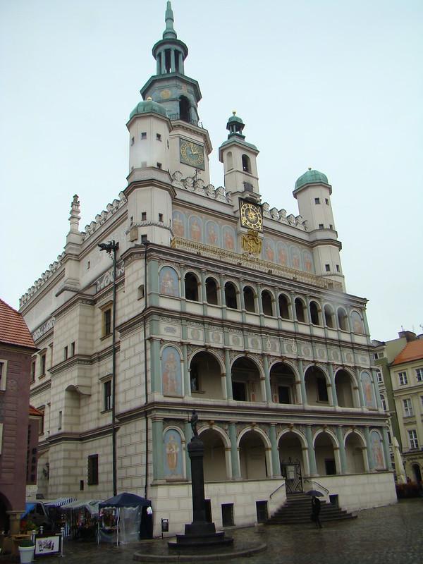 Ayuntamiento Plaza Mayor Poznan Polonia 07