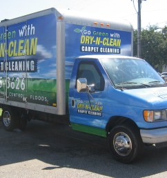 dry n clean box truck billboard by agwraps [ 1024 x 768 Pixel ]