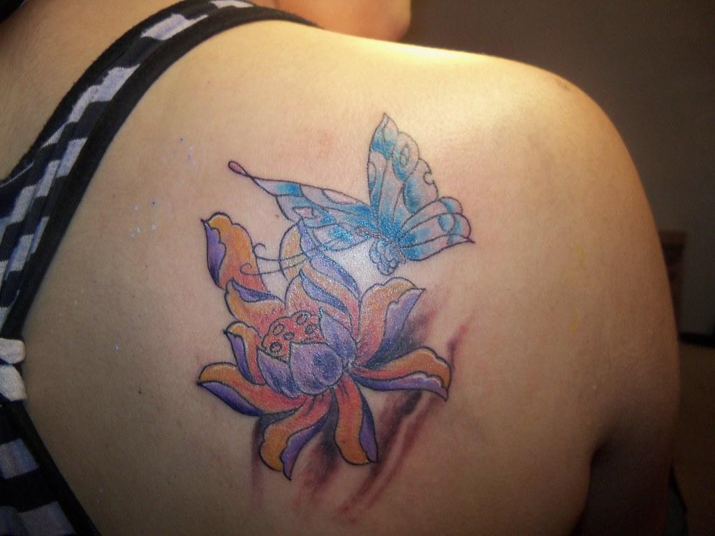 Tattoo Flor De Loto Tatuajes Chico Campos Flickr
