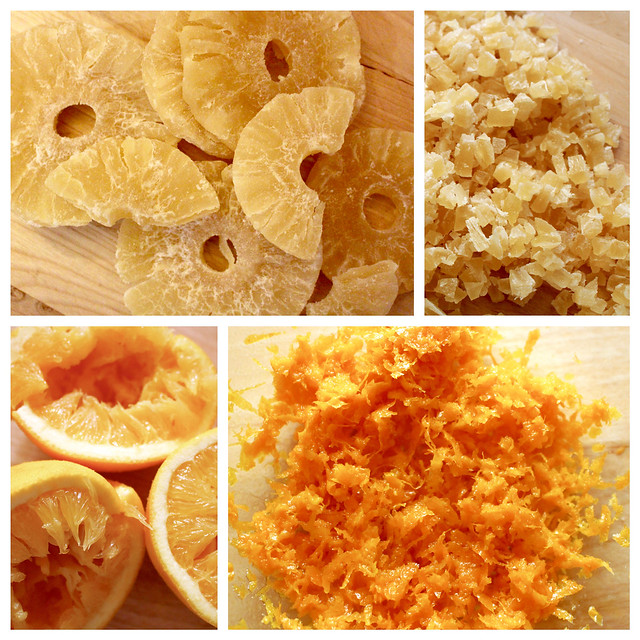 Orange Pineapple Walnut Fruitcake - 31