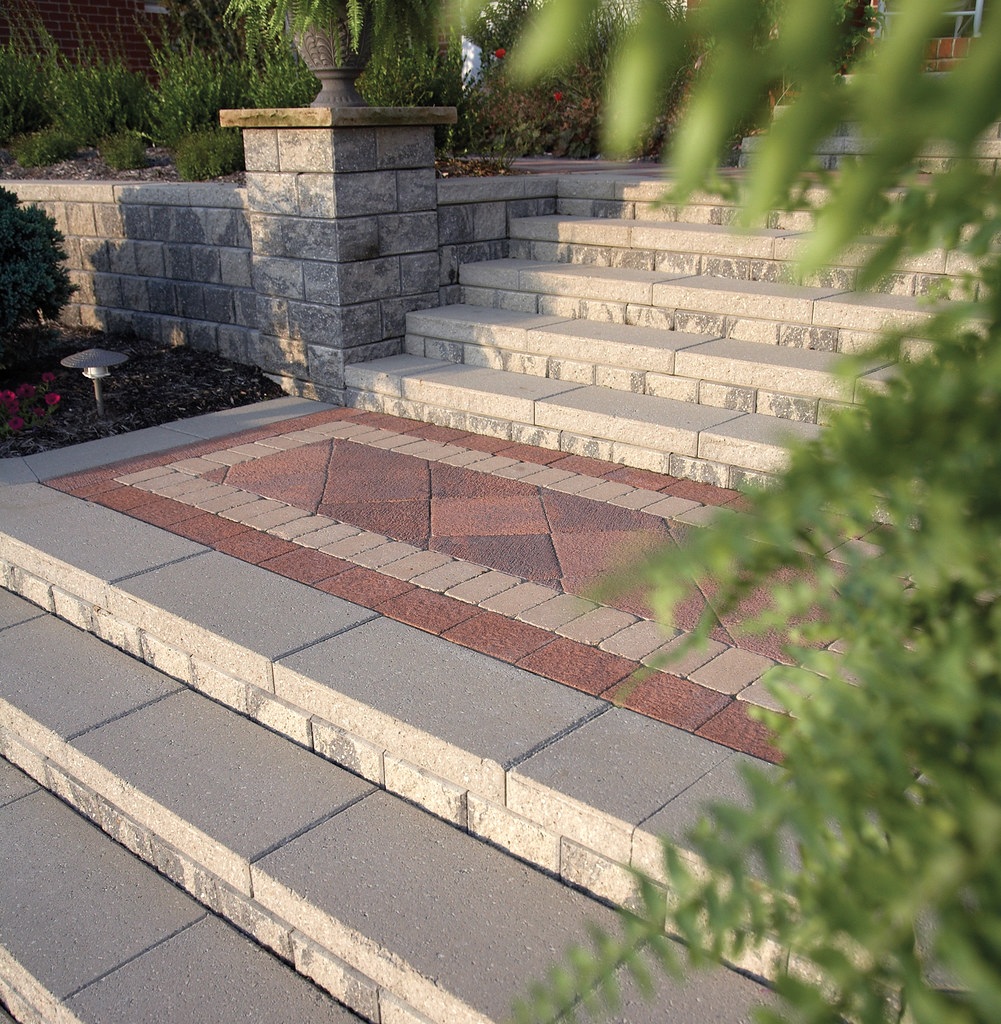 Beautiful Paver Design for patio