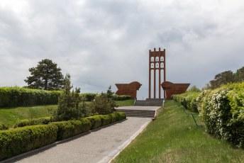 Vanuit Jerevan maakte ik nog een dagtocht naar o.a. dit Sardarapat Memorial.