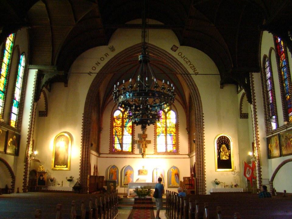 altar mayor interior Iglesia de San Jorge Sopot Polonia 15