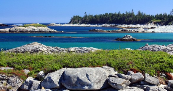 a coastal part of Kejimkujik National Park, Nova Scotia