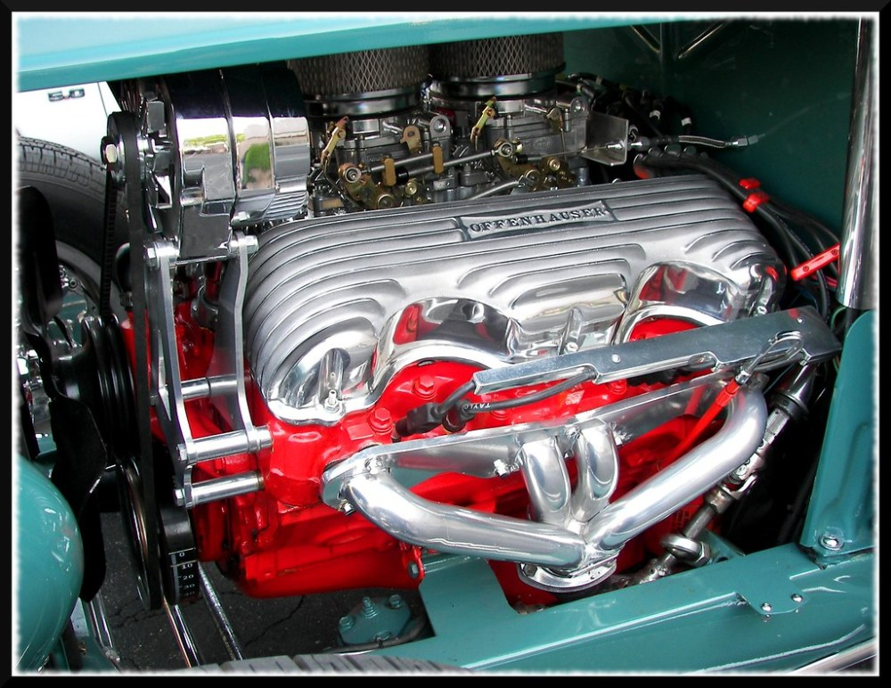 medium resolution of  chevy 348 in a 32 ford by dusty 73