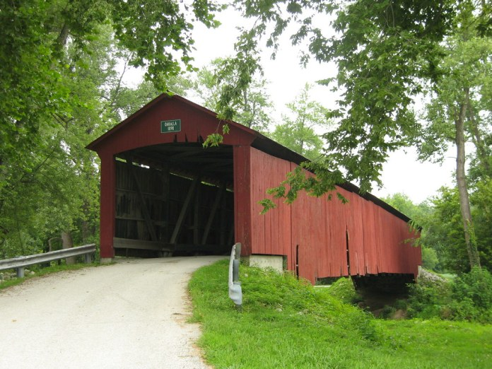 Oakalla Covered Bridge