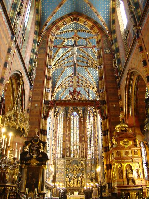 Polonia-Iglesia de Santa María Cracovia 25