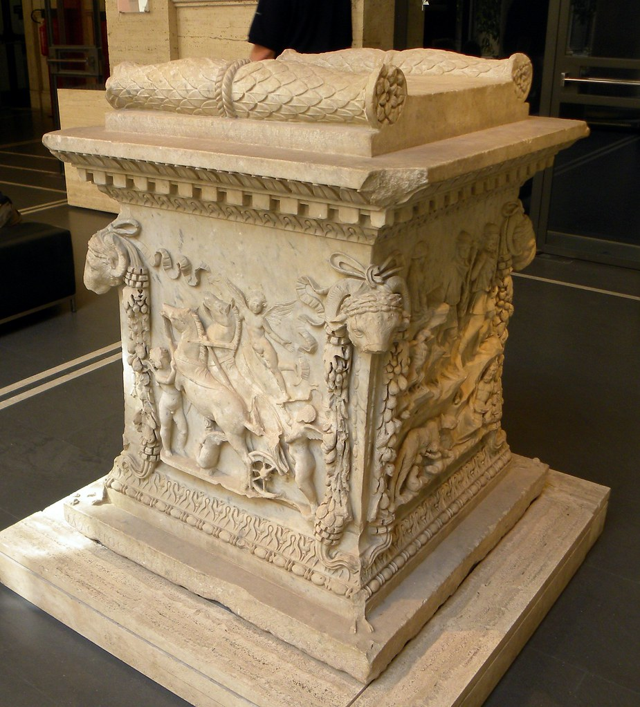 Altar Of Venus And Mars 1 Altar Found At Ostia In The