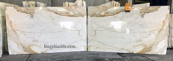 Calacata Macchia Vecchia Bookmatched 2cm Natural Stone Marble Slabs For Countertops & Wall