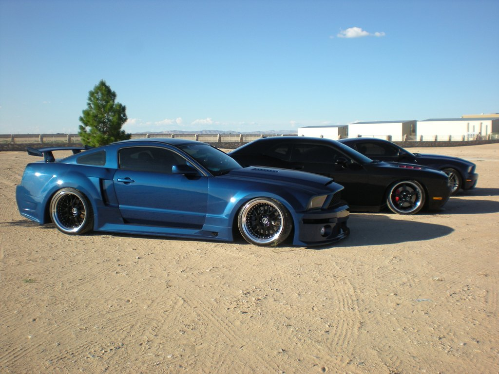 hight resolution of  apr gt r widebody kit for 05 09 ford mustang s197 by mrupscale