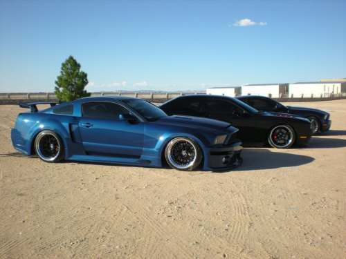 small resolution of  apr gt r widebody kit for 05 09 ford mustang s197 by mrupscale