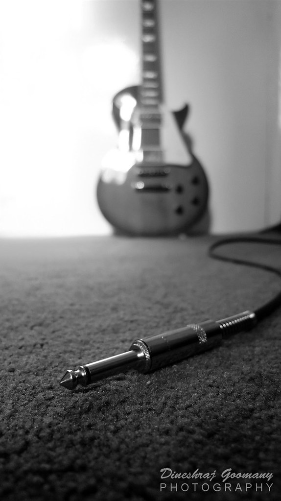 Guitar and cable