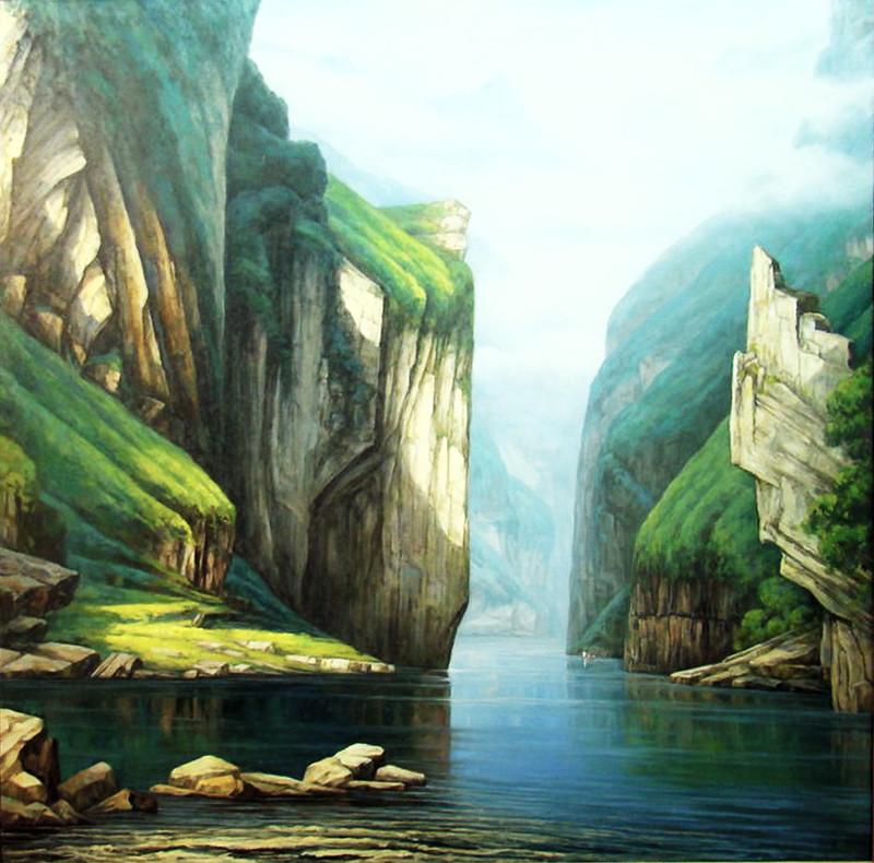 Chongqing exposición cuadros 09