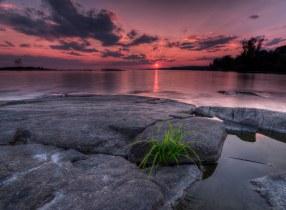Lake Nipissing Sunset-HDR