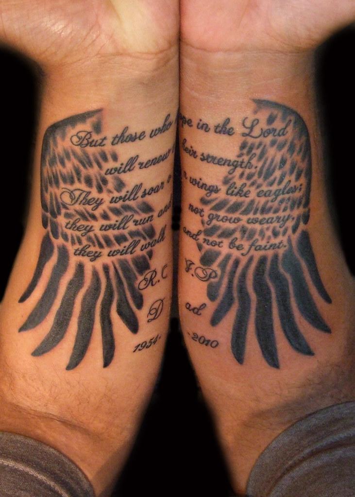Isaiah 40:31 Tattoo : isaiah, 40:31, tattoo, Isaiah, Tattoo, Designs, Elegant