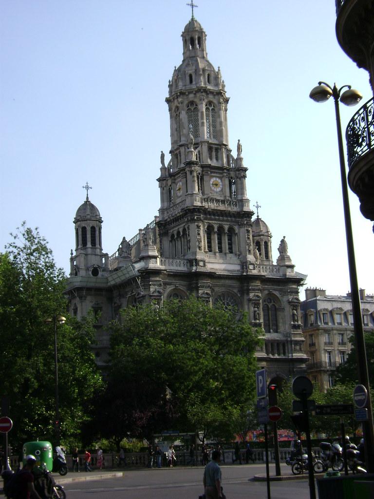 Place D Estienne D Orves : place, estienne, orves, Église, Sainte-Trinité,, Place, D'Estienne-d'Orves,, Par…, Flickr