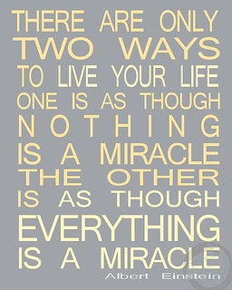 Einstein Miracle Quote : einstein, miracle, quote, Citations, D'Albert, Einstein:, Albert, Einstein, Quote, Miracle…, Flickr