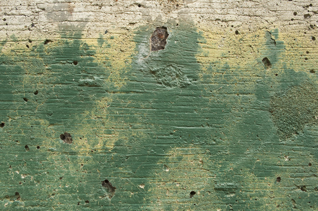 Blue Green Cement
